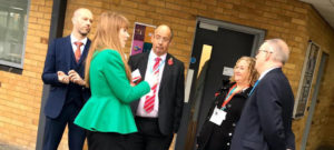 A visit from Angela Raynor MP and Councillor Jacques
