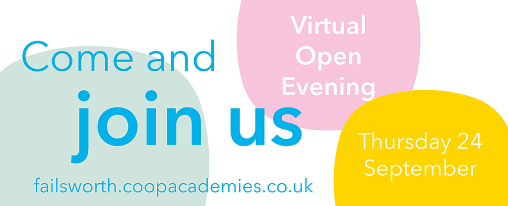 Open Evening 2020- We're going virtual!