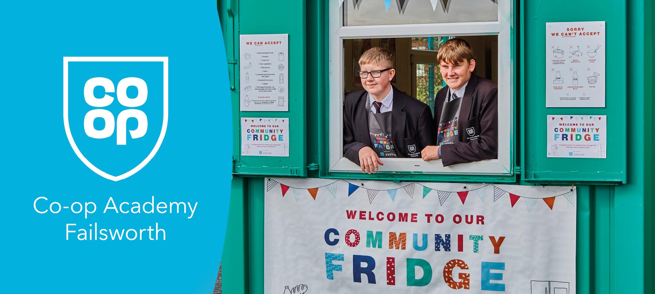 We've launched a Community Fridge!